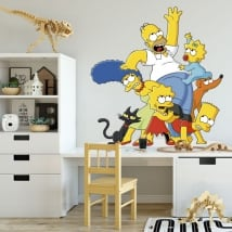 Vinyl and stickers the simpsons