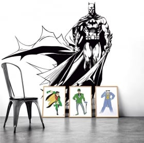 Vinyl and stickers batman