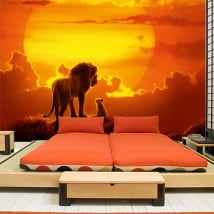 Vinyl murals the lion king