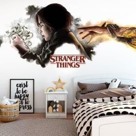 Adhesive vinyl stranger things
