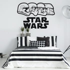Vinyl stickers star wars stormtrooper