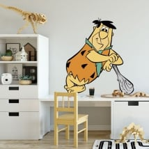 Vinyl and stickers peter flintstones
