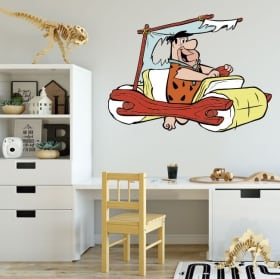 Vinyl and stickers the flintstones