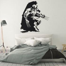 Decorative vinyl and stickers x-men wolverine