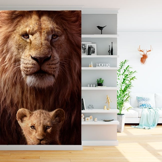 Wall mural the lion king