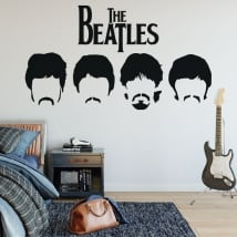 Vinyls and stickers the beatles