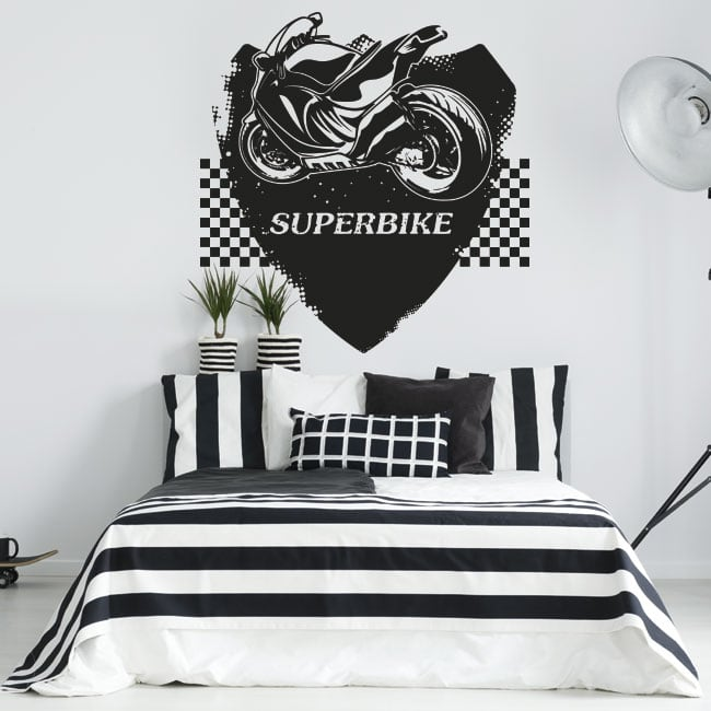 Vinyls and stickers superbike motorcycles