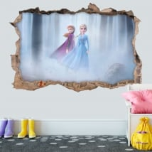 Vinyl stickers 3d disney frozen 2