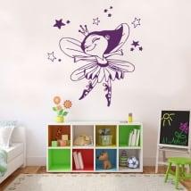 Stickers and vinyl fairy ballerina
