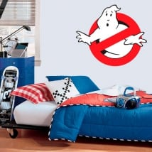 Vinyl and stickers the ghostbusters