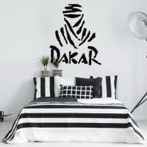 Vinyl and stickers dakar logo