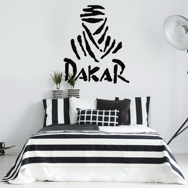 Vinyl and stickers dakar logo
