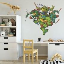 Vinyl stickers the ninja turtles