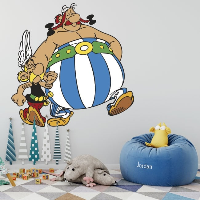 Stickers and vinyl asterix and obelix