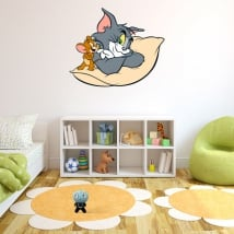 Vinyl stickers for children tom and jerry
