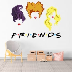 Vinyl stickers netflix friends