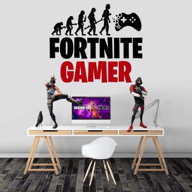 Vinyl and stickers fortnite gamer