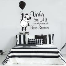Vinyl phrases in catalan panda bear flies high