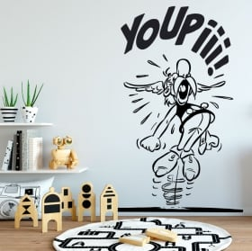Vinyl stickers asterix and obelix