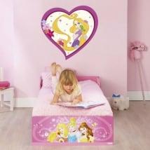 Vinyl and stickers disney princess rapunzel