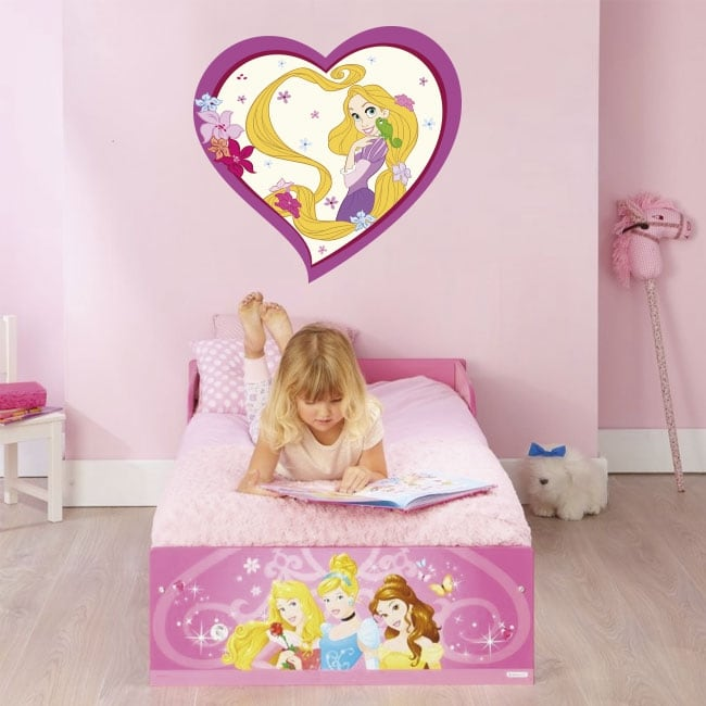 Vinyl and stickers disney princess rapunzel
