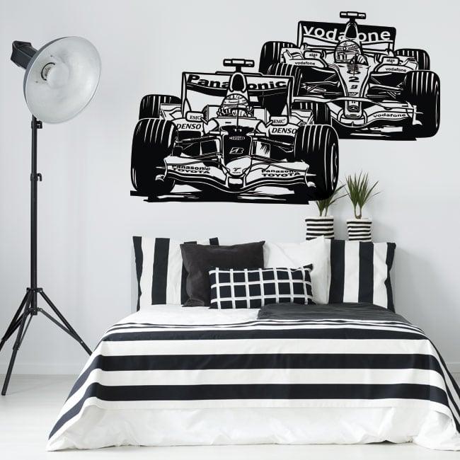 Decorative vinyl and stickers formula 1 grand prix