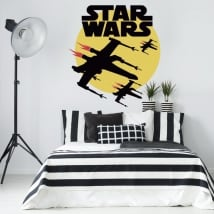Star wars vinyl stickers