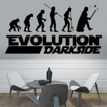 Decorative vinyl and stickers star wars evolution