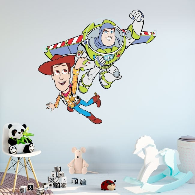 Disney stickers toy story buzz lightyear and woody