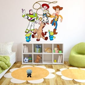 Vinyl and stickers disney toy story