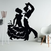 Decorative vinyl and flamenco stickers