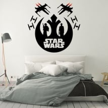 Decorative vinyl or sticker star wars