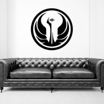 Vinyl and stickers star wars galactic republic