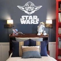 Decorative vinyl and stickers yoda star wars