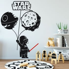 Vinyl stickers star wars darth vader