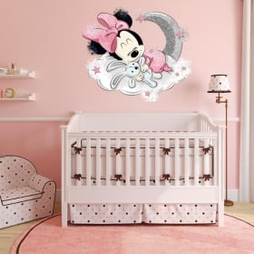 Vinyls and children's stickers mickey baby