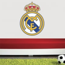 Vinyl and stickers real madrid shield