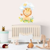 Vinyls and stickers for children or babies the lion king