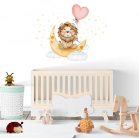Baby vinyls and stickers the lion king sweet dreams
