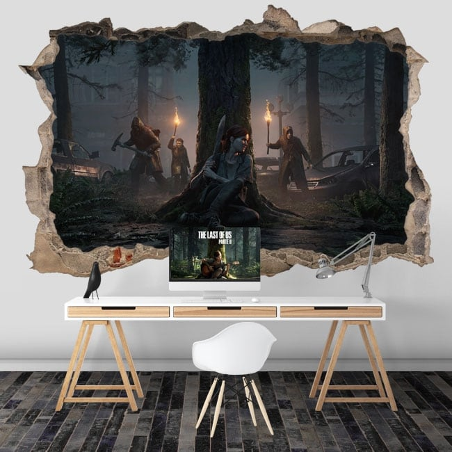3d video game vinyl the last of us 2