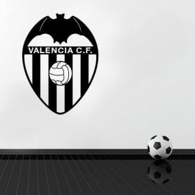 Decorative vinyl and stickers valencia football club shield