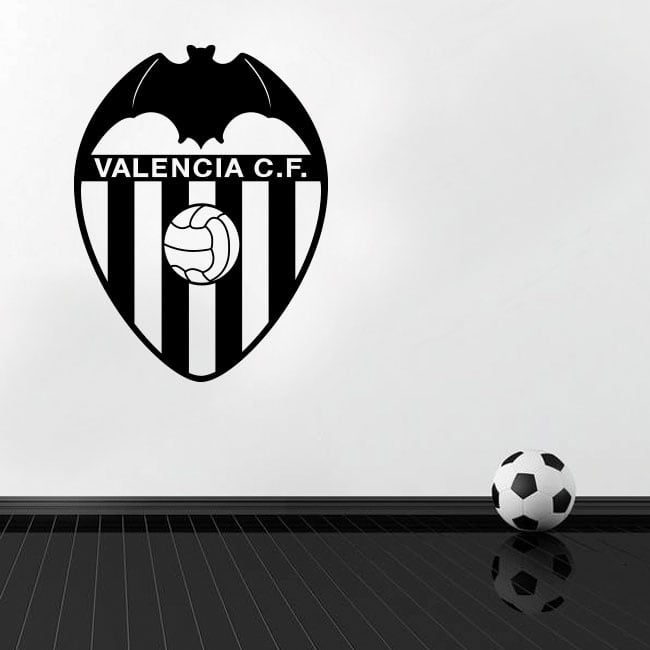 Decorative vinyl and stickers valencia football club shield
