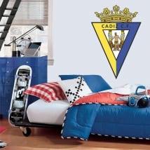 Vinyl and stickers cadiz football club shield