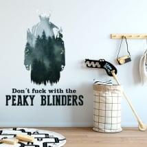 Wall decals peaky blinders