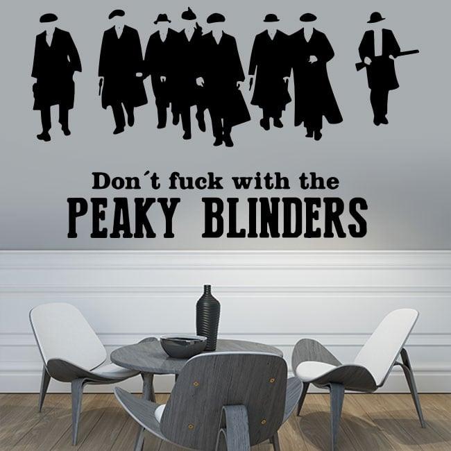 Vinyls and stickers peaky blinders