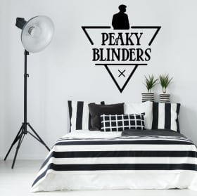 Vinyl stickers tv series peaky blinders