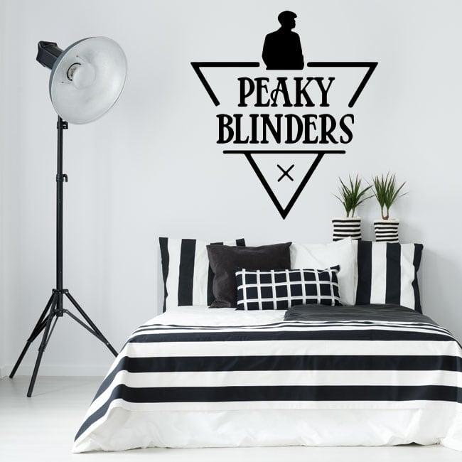 Vinyl stickers tv series peaky blinders