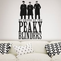 Decorative vinyl tv series peaky blinders