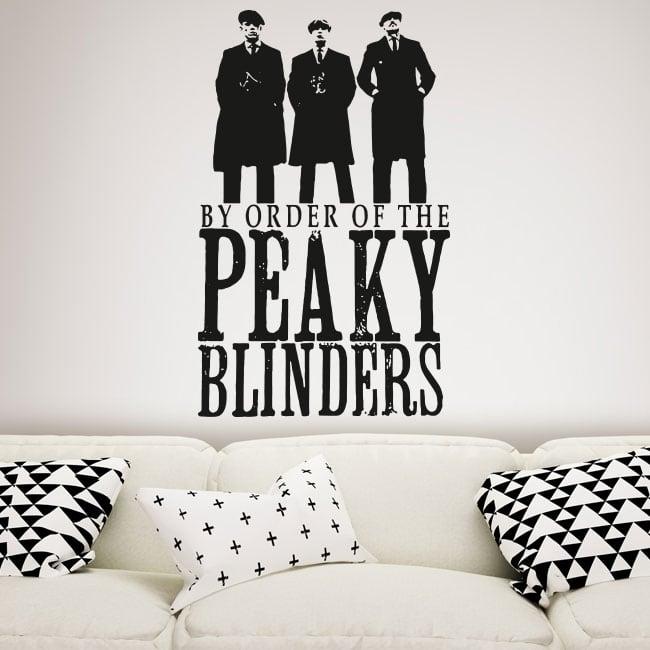 Decorative vinyl tv series peaky blinders