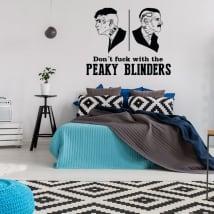 Adhesive vinyls peaky blinders